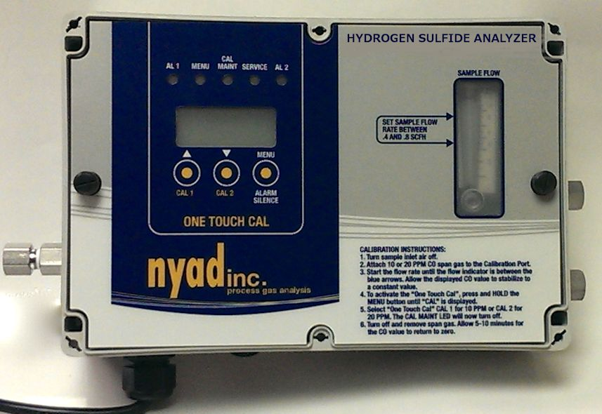 SERIES 801T ONE TOUCH HYDROGEN SULFIDE ANALYZERS